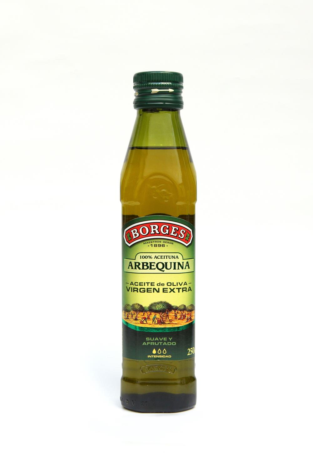 VIRGEN EXTRA ARBEQUINA BORGES 12ud 250ml